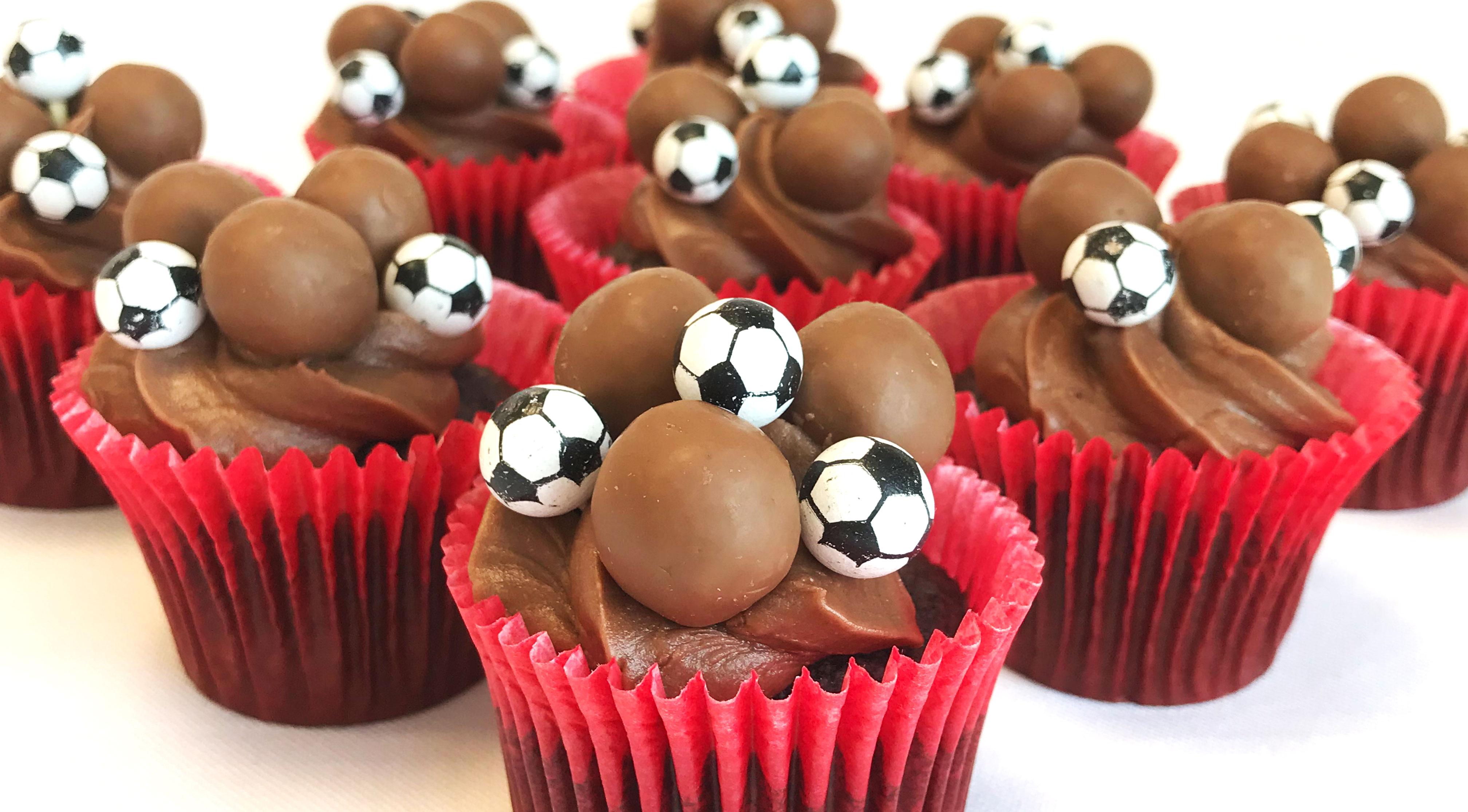 Malteaser World Cup Cakes Recipe