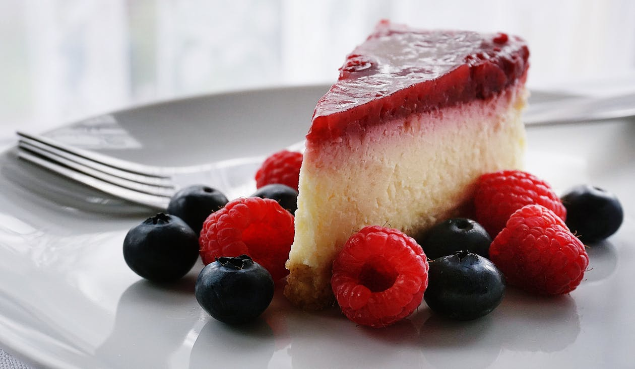 Red, White & Blue Cheesecake