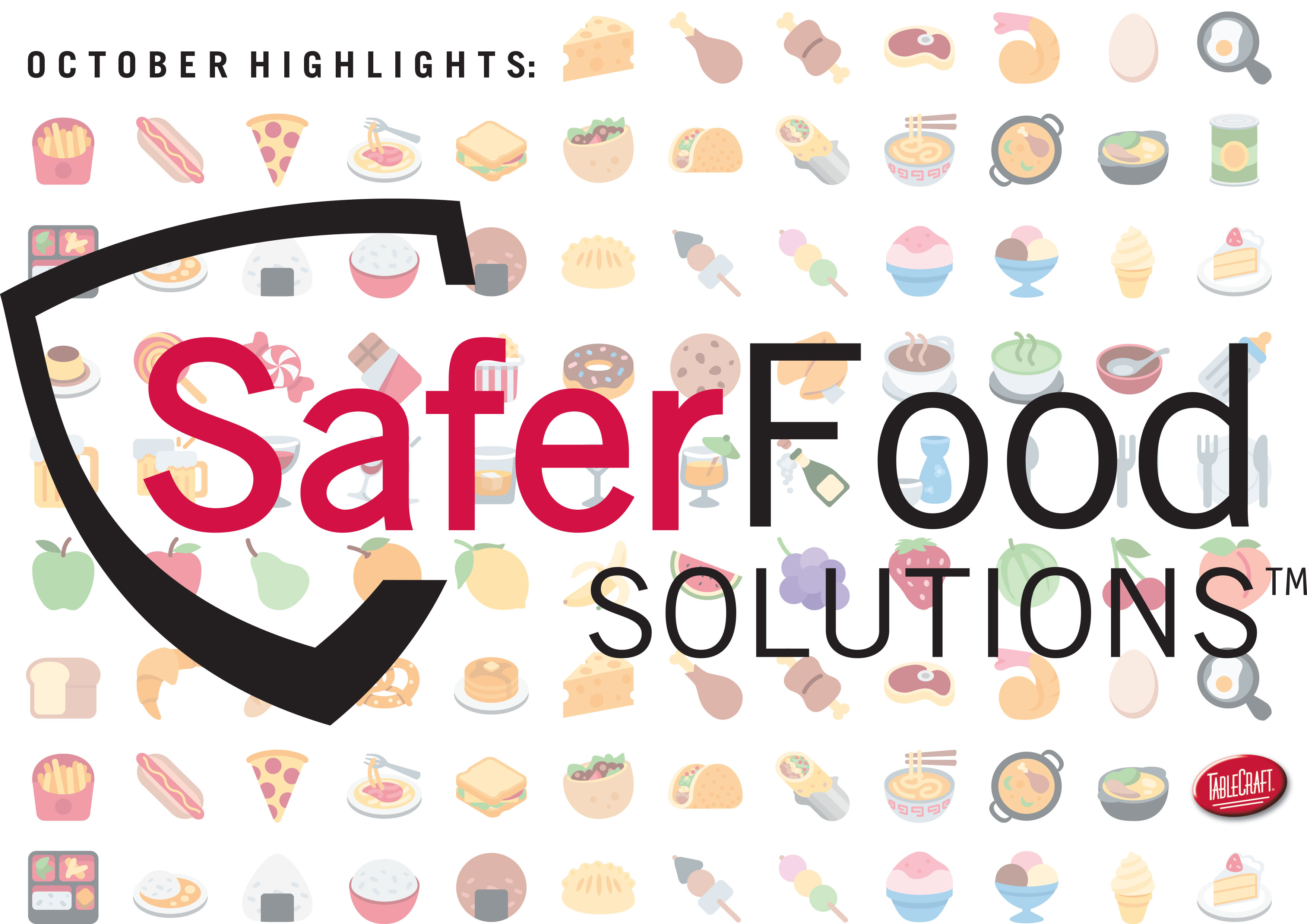 Promote Food Safety with SaferFood Solutions – October Look Book