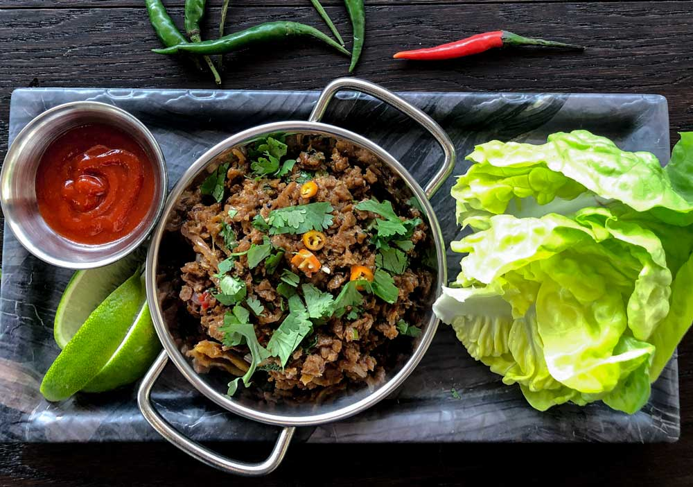Vegan Larb Recipe From Our Test Kitchen