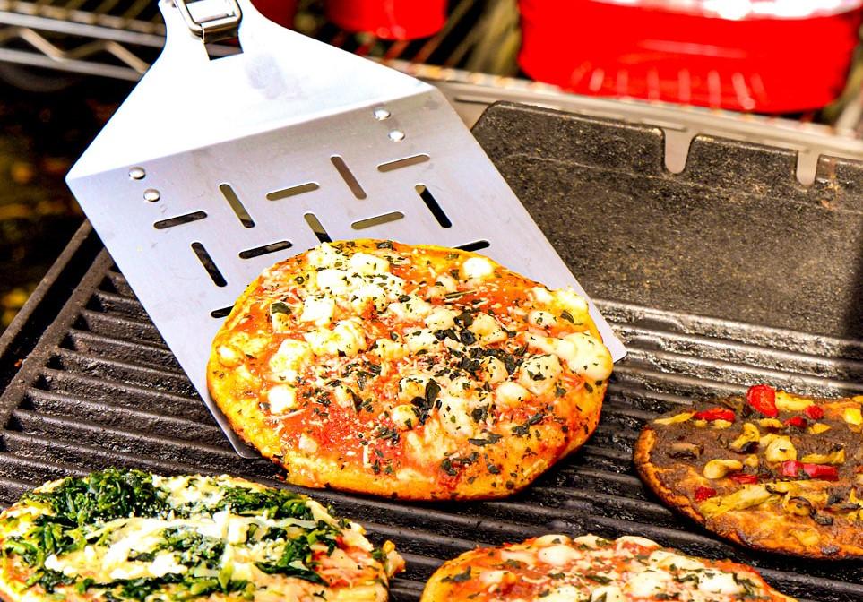 Quick Grilled Pizza Recipe