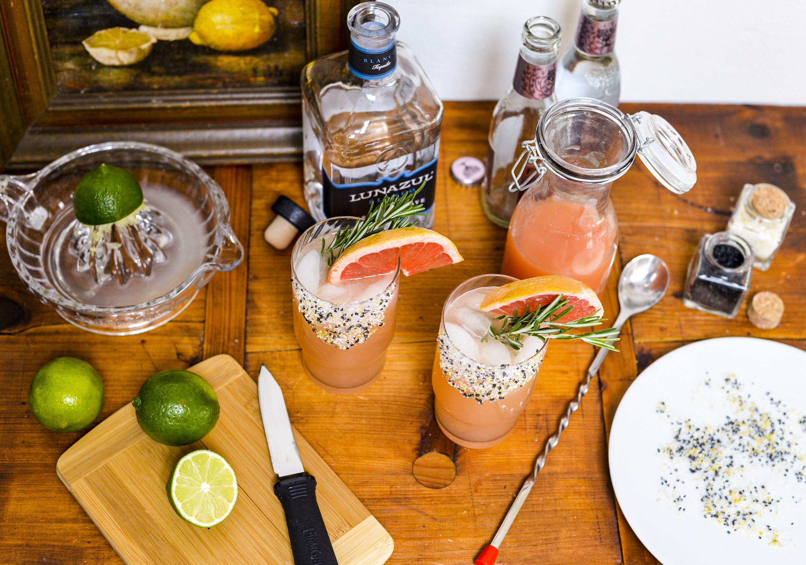 Three Cocktails For Home Bartending